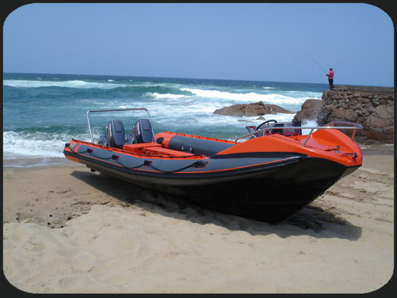 Rigid Inflatable Boat - 750F